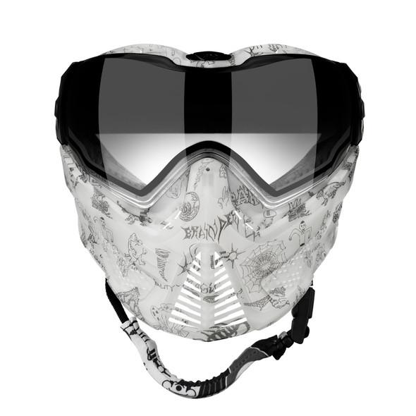 Push Unite Paintball Mask - Brain Collab FLX