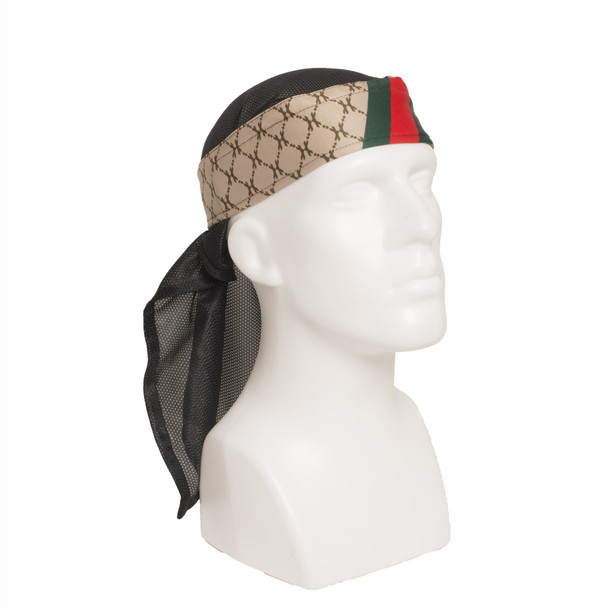 HK Army Headband Wrap HH Tan