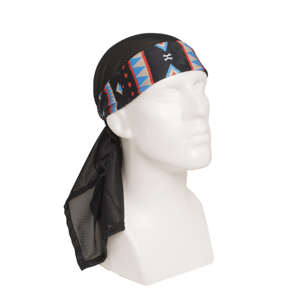 HK Army Headband Wrap Triple Blue