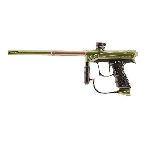 DYE Rize CZR Paintball Gun - Olive/Tan
