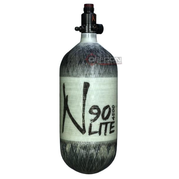 Ninja Lite 90/4500 Carbon Fibre HPA Tank / Grey Ghost