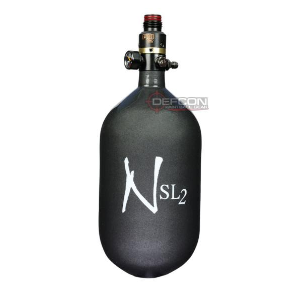Ninja 68/4.5k SL2 Super Light PRO V2 HPA Paintball Tank - Gunsmoke