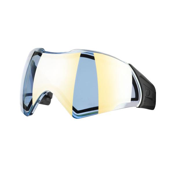 Push Unite Thermal Chrome Lens - Performance Revo Aqua Gold