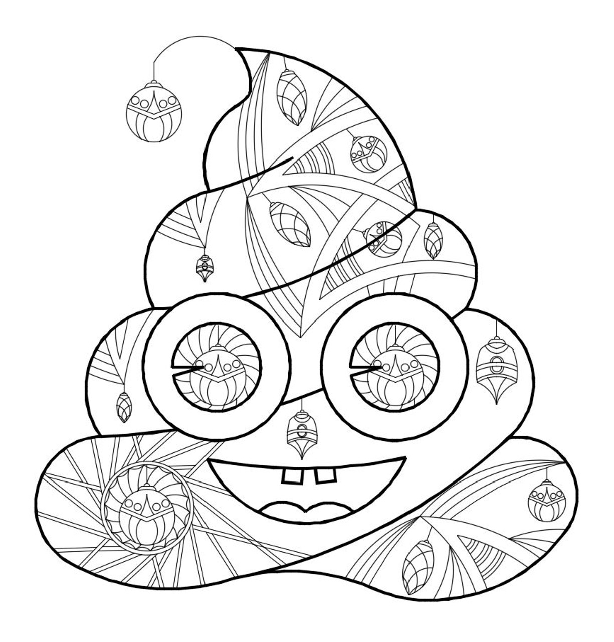 picture about Emoji Coloring Pages Printable titled Printable Poop Emoji Coloring -Little one - Xmas, Xmas coloring webpages, Poop Emoji coloring