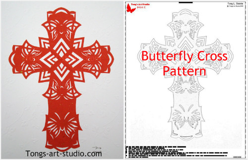 photograph regarding Printable Cross Pattern referred to as Printable Practices - Paper Slicing Styles - Cross Routines