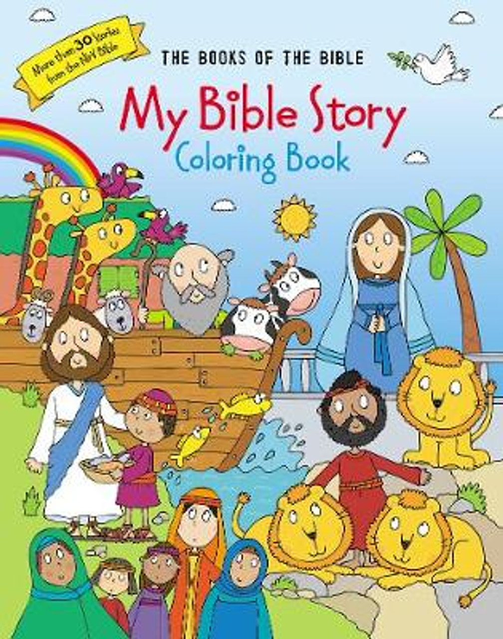 - My Bible Story Coloring Book: The Books Of The Bible Zondervan