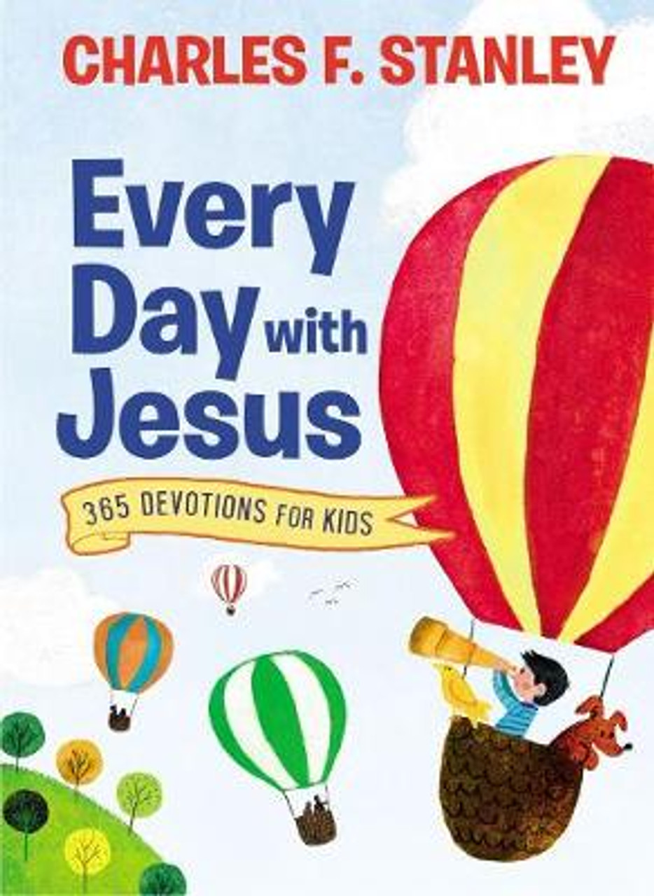 Every Day with Jesus: 365 Devotions for Kids [9780718098544]