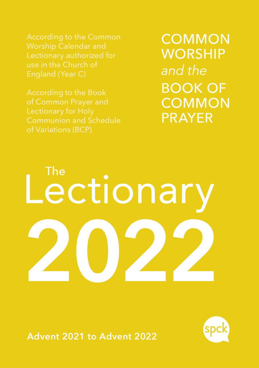Lectionary Calendar 2022.Common Worship Lectionary 2022 9780281085378 Aslanchristianbooks Com