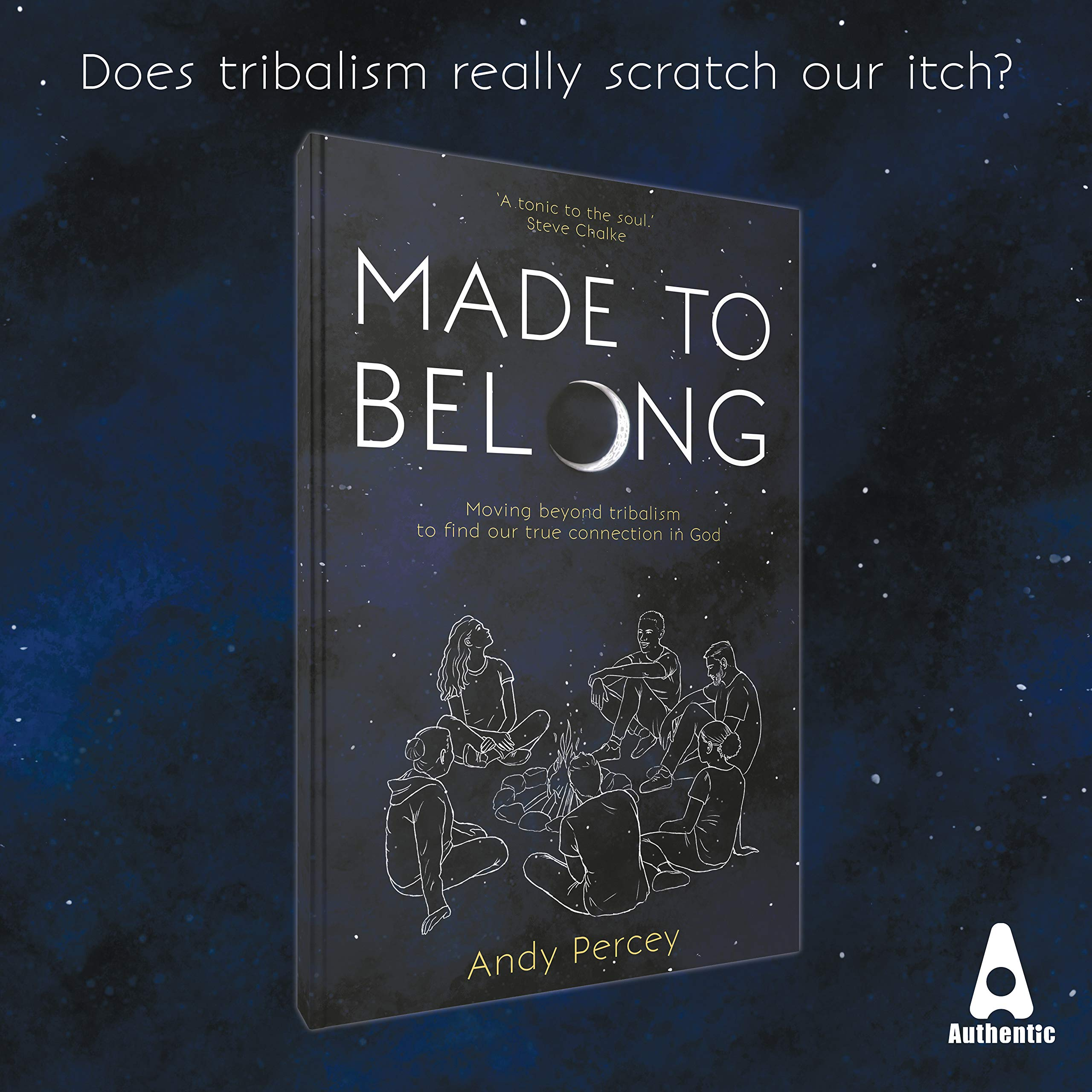 Made to Belong: Moving Beyond Tribalism to Find Our True Connection in God cover photo