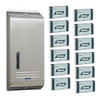 Kimberly Clark Compact Towel Stainless Steel Starter Pack (4440 4970) Kimberly Clark Professional