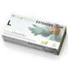 """Medline Aloetouch 12"""" Extended Cuff Chemo Nitrile Exam Gloves Large 50/bx Medline Products"""