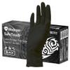 Medicom SafeTouch Ultimate Black Textured Latex Gloves Medium (1158C) Medicom Australia