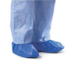 Medline Polyethylene Shoe Covers Blue One Size 1000/ctn (CRI2010)