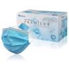 Medicom Premier Plus 3Ply Level 2 Earloop Face Mask Blue 50/Box