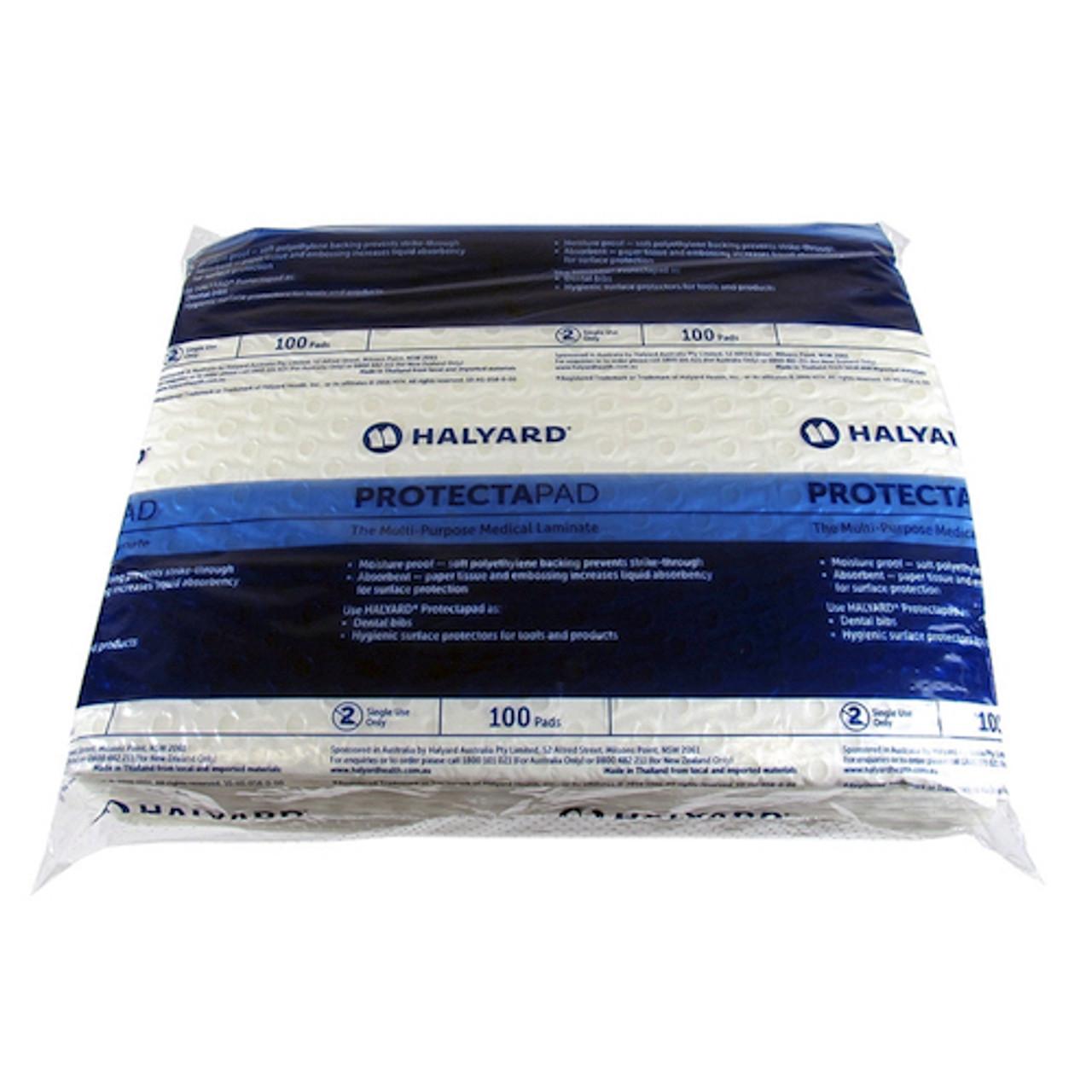 Halyard Protectapad Small 100 Pads 28.5cm x 21.5cm (HAL2706) Halyard Health