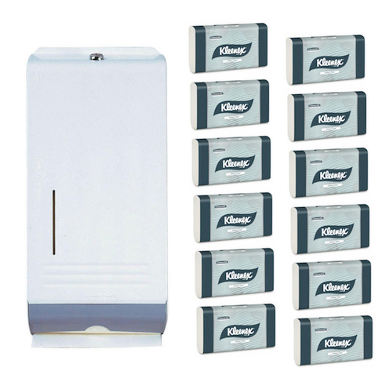 Kimberly Clark Compact Towel White Metal Starter Pack (4440 4969) Kimberly Clark Professional