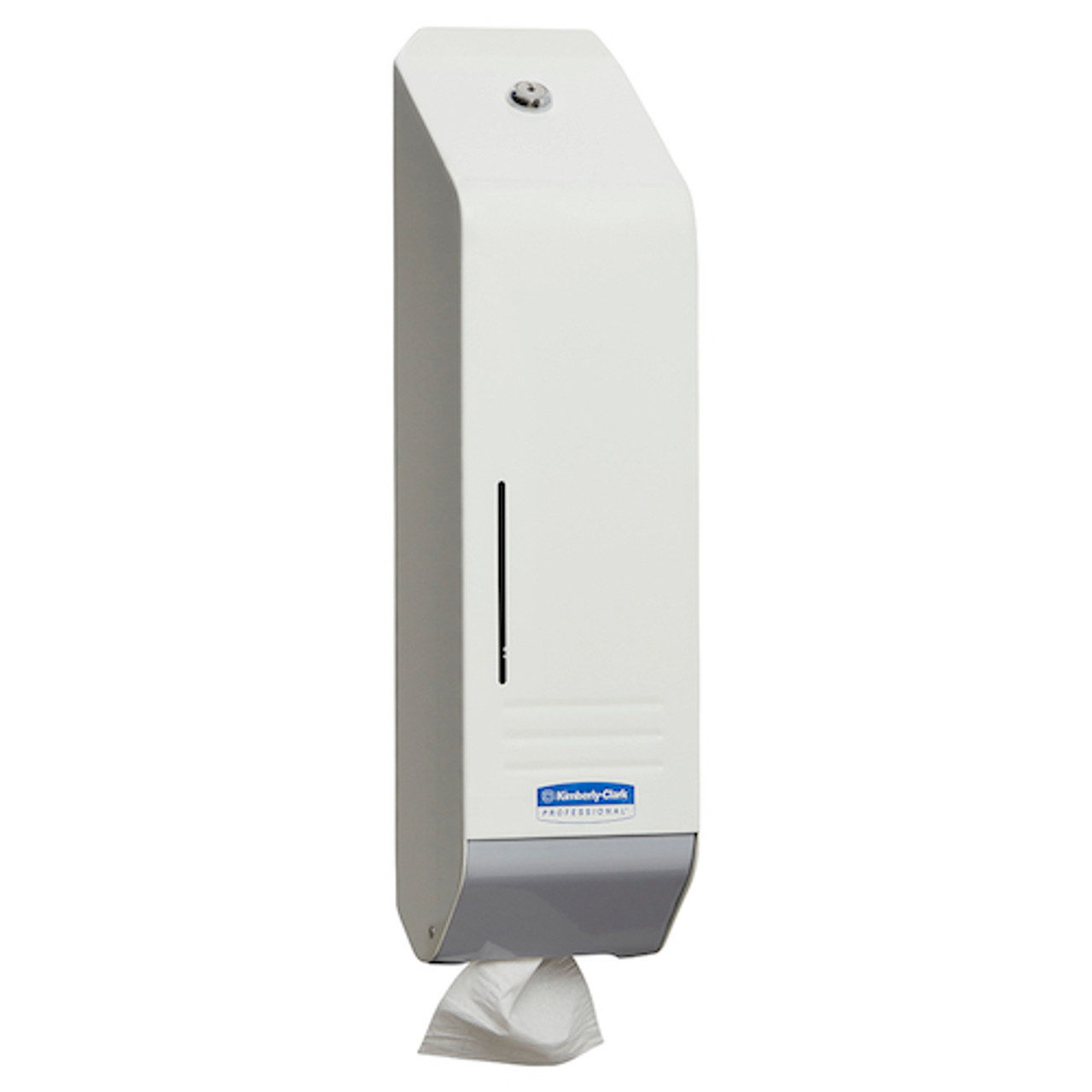 Kimberly Clark Metal Single Sheet Toilet Tissue Dispenser (4404)