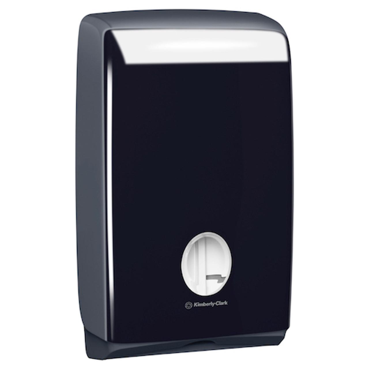 Kimberly Clark Aquarius Compact Hand Towel Black Dispenser (70007)