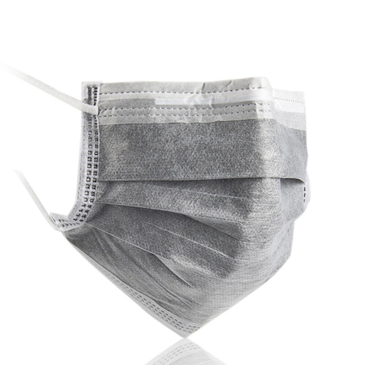 Medicom Vitals Activated Carbon Procedure Earloops Masks 50/box (VITCMK2498)