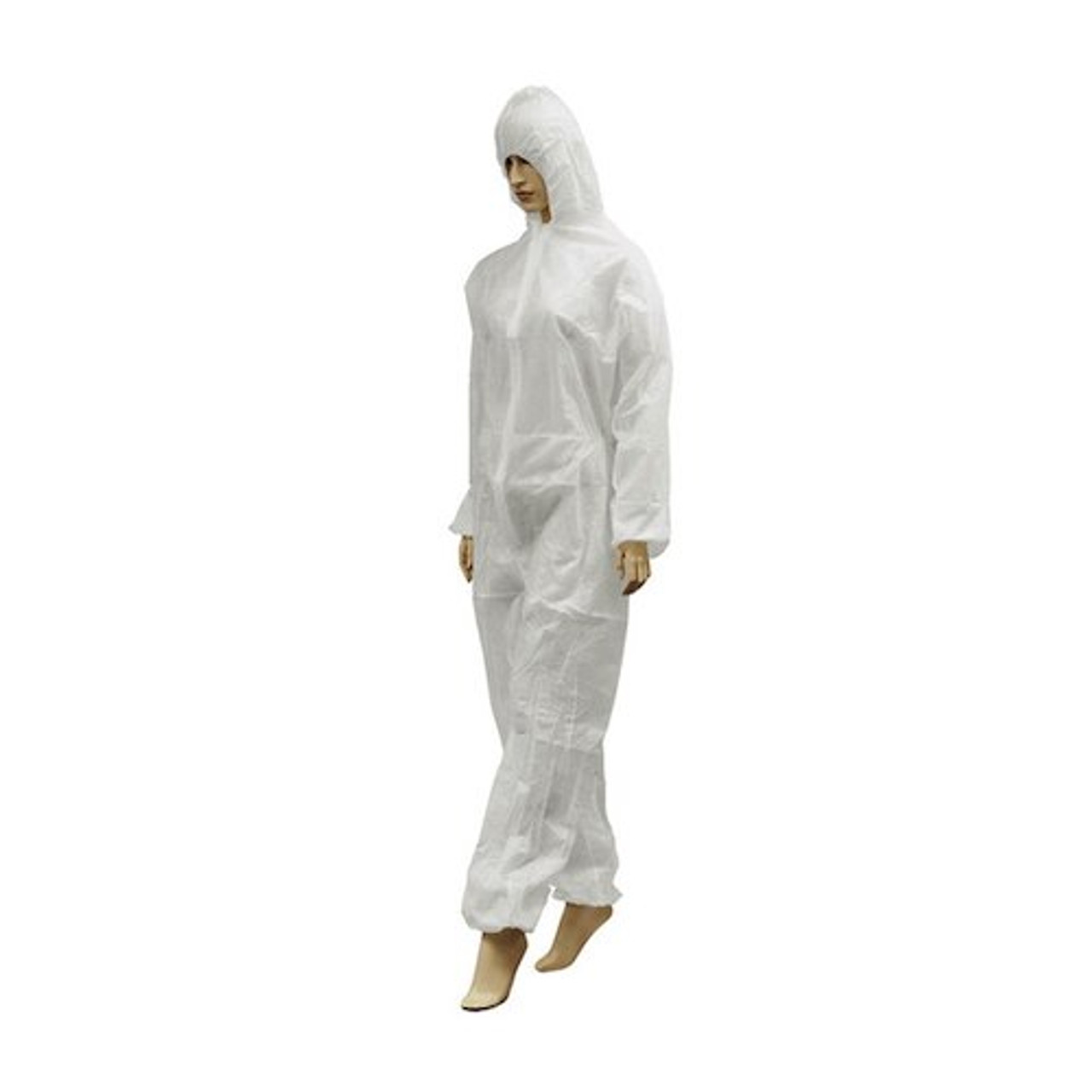 Medicom PP Coverall Size Large 10/pack