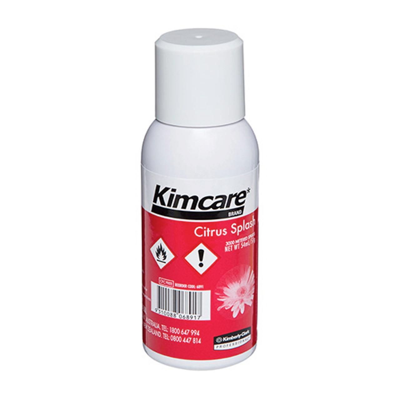 Kimcare Micromist Citrus Splash Fragrance Refill 54ml (6891) Kimberly Clark Professional