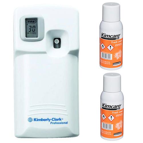 Kimcare Micromist Fresh Linen Fragrance Starter Pack (9600 6890)