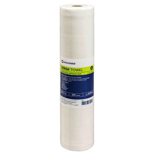Halyard Versa Towel Large 49cm x 41.5cm 8 Rolls (4220) Halyard Health