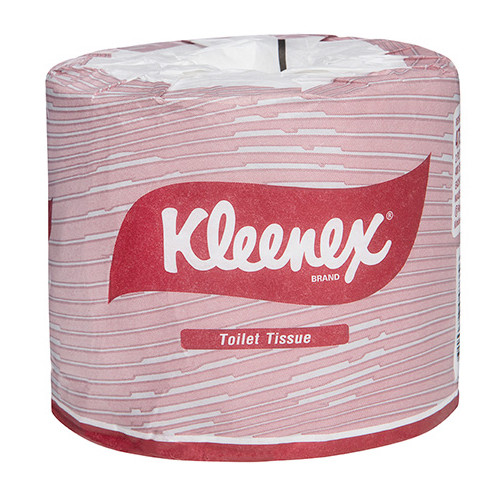 Kleenex Deluxe Toilet Tissue 2 Ply 24 Rolls x 400 Sheets (KC4735) Kimberly Clark Professional
