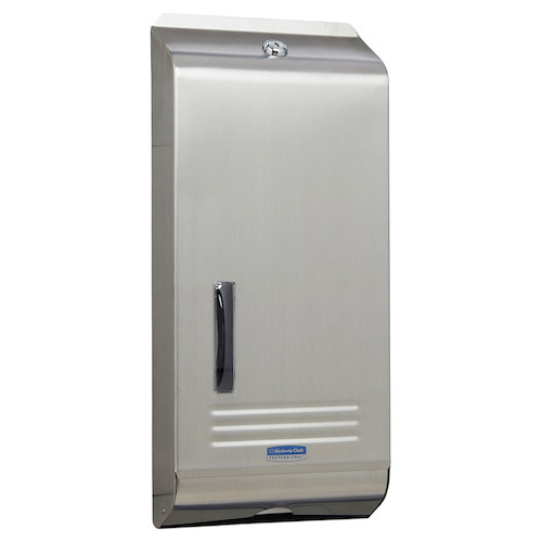 Kimberly Clark Compact Stainless Steel Dispenser (4970) Kimberly Clark Professional