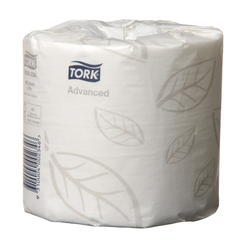 Tork Soft Conventional Toilet Roll 2 Ply 48 Rolls x 400 Sheets (234)