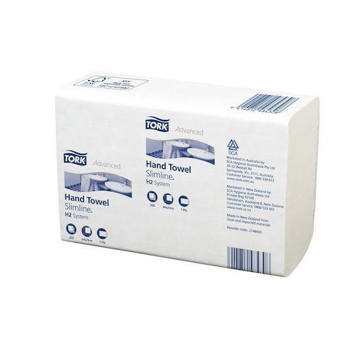 Tork Xpress Multifold Hand Towel Slimline H2 System 7 Packs (148430) Tork Products