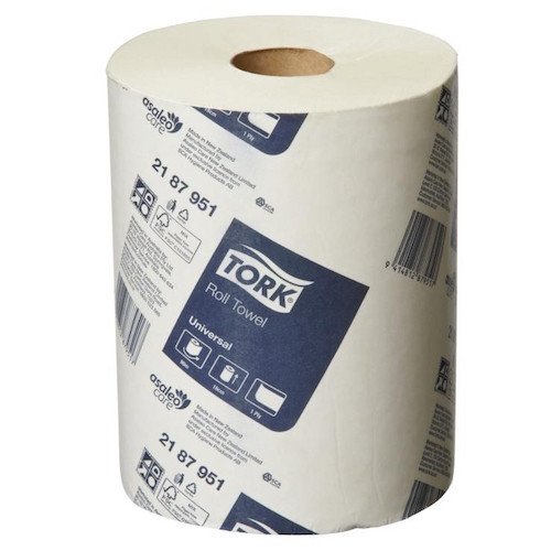 Tork Universal Roll Towel 90 Metres x 16 Rolls (2187951) Tork Products