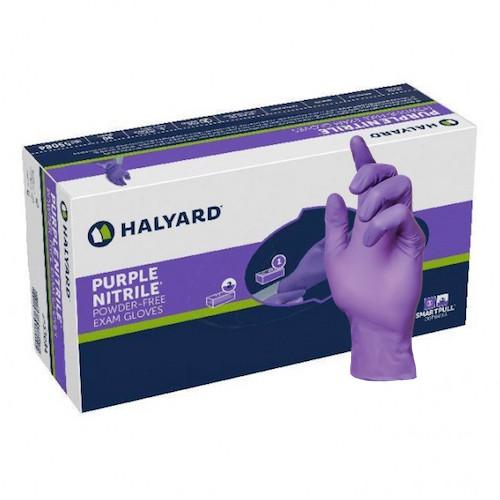 Halyard Purple Nitrile Exam Gloves 1000/ctn Halyard Health