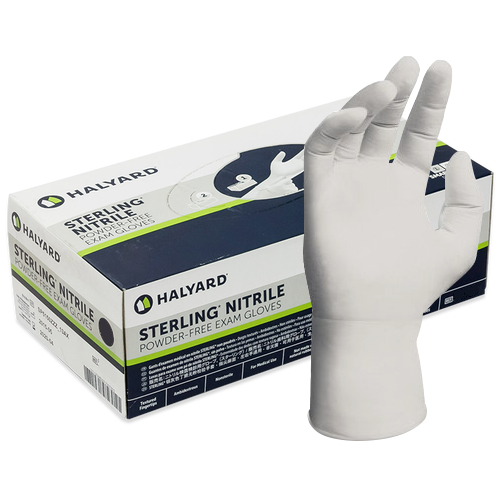 Halyard Sterling Nitrile Exam Gloves X-Small 200 Gloves (13938) Formerly Kimberly Clark Health Care