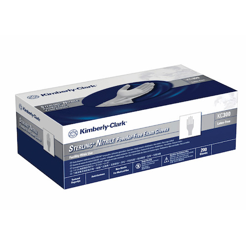 Kimberly Clark Sterling Nitrile Exam Gloves Large 200 Gloves (13942) Halyard Health