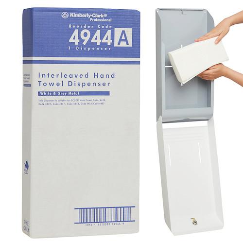 Kimberly Clark Optimum Hand Towel Metal Dispenser (4944) Kimberly Clark Professional