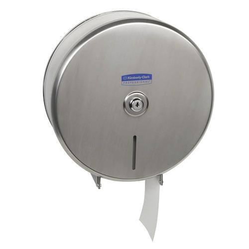 Kimberly Clark Jumbo Roll Stainless Steel Dispenser (4972) Kimberly Clark Professional