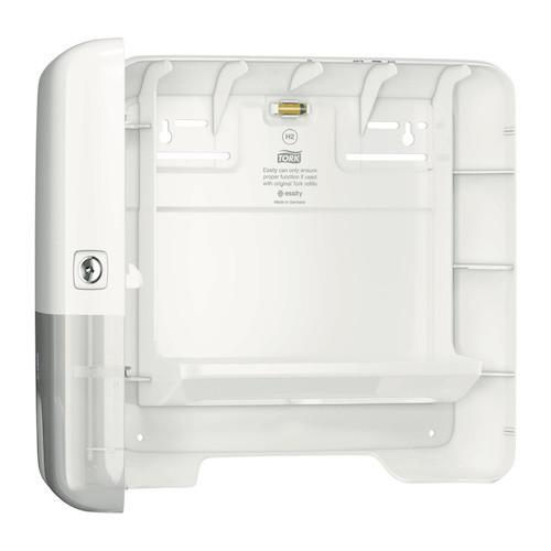 Tork Xpress Multifold Mini Hand Towel Dispenser H2 White (552100) Tork Products