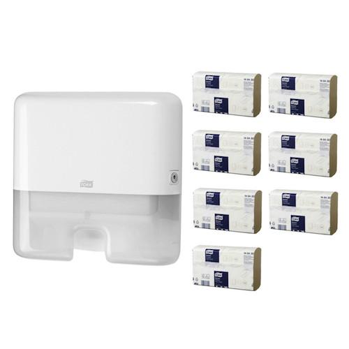 Tork Xpress Multifold Mini Starter Pack H2 White (148430 552100) Tork Products