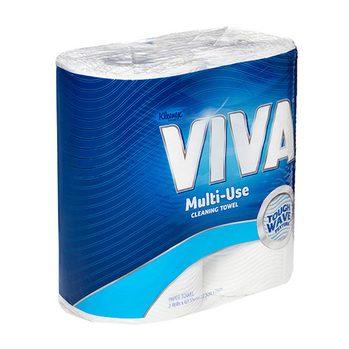 Kleenex Viva Kitchen Towel 6 Twin Packs 60 Sheets 12 Rolls (44301) Kimberly Clark Professional