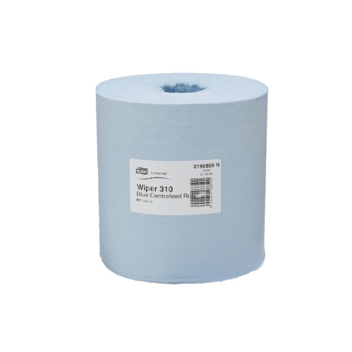 Tork Basic Paper 1ply Centerfeed Roll Blue M2 System 6 Rolls (2198859)  Tork Products