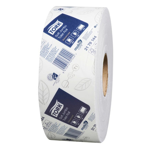 Tork Jumbo Toilet Roll 2Ply 6 Rolls x 320 Metres T1 System (2179144) Tork Products