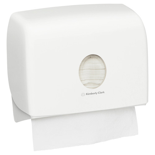 Kimberly Clark Aquarius Multifold Hand Towel Dispenser Small (70220)  Kimberly Clark Professional