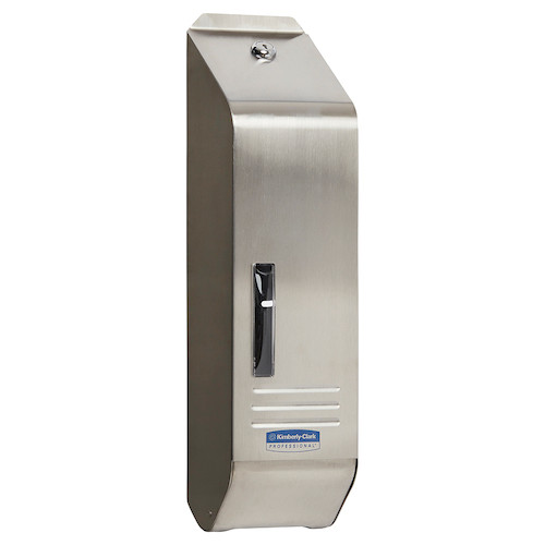 Kimberly Clark Stainless Steel Single Sheet Toilet Tissue Dispenser (4405) Kimberly Clark Professional