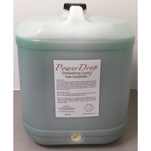 Dishwashing Liquid Detergent 20L Power Drop Super Concentrated  Cleaning Chemicals by Eco Chemicals