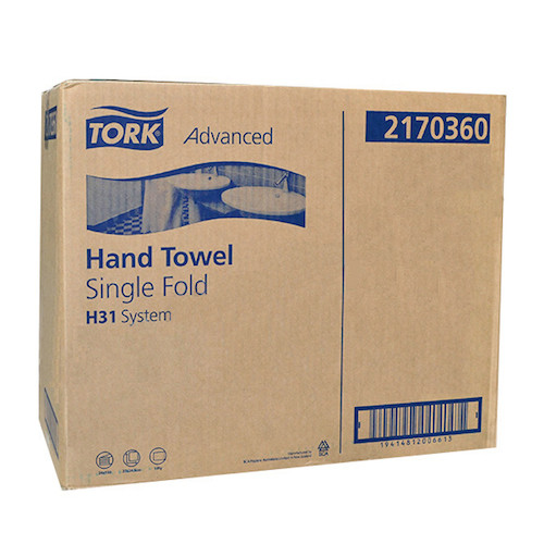 Tork® Centrefold Hand Towel Advanced H31 24 Packs (2170360) Tork Products