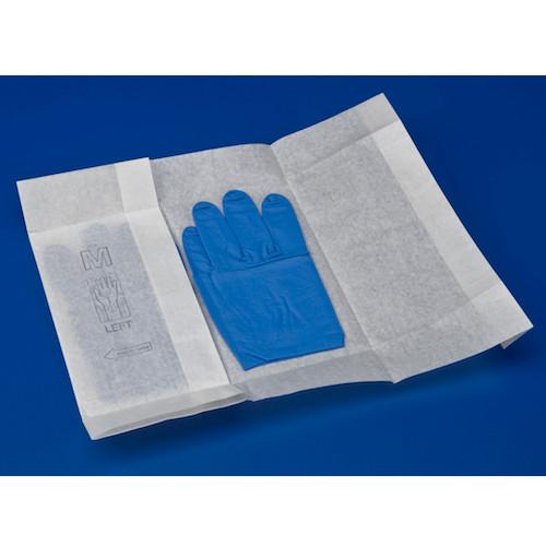 Medline Sterile Procedure Nitrile Gloves Large 50 Pairs (MDS2296)