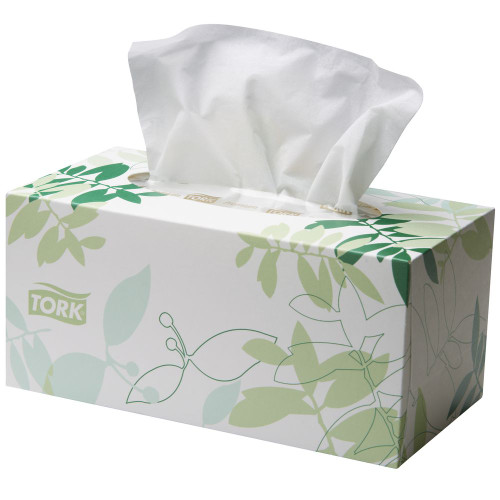 Tork Premium Facial Tissue 2 Ply 24 Packs x 224 Sheets (2170303) Tork Products