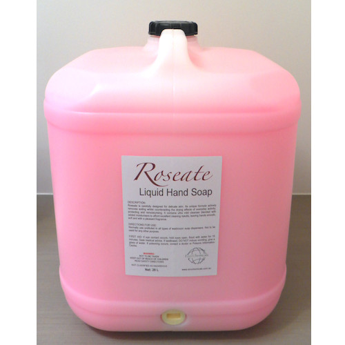 Roseate Pink Liquid Hand Soap 20L With Added Moisturiser Eco Chemicals