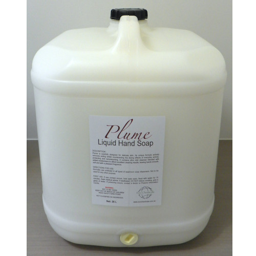 Plume White Liquid Hand Soap 20L With Added Moisturiser Eco Chemicals